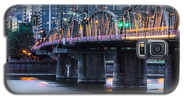 Hawthorne Bridge Portland Oregon Galaxy S5 Case by Patricia Babbitt