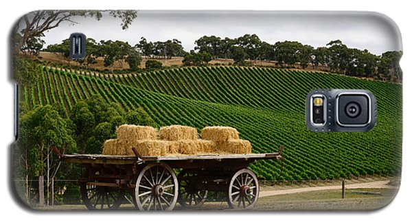 Hay Wagon Galaxy S5 Case