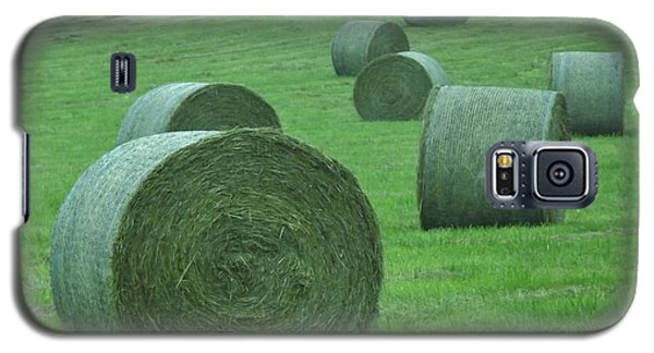 Haybales Galaxy S5 Case by John Wartman