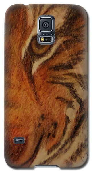 Hayley's Zoo Tiger Galaxy S5 Case by Christy Saunders Church