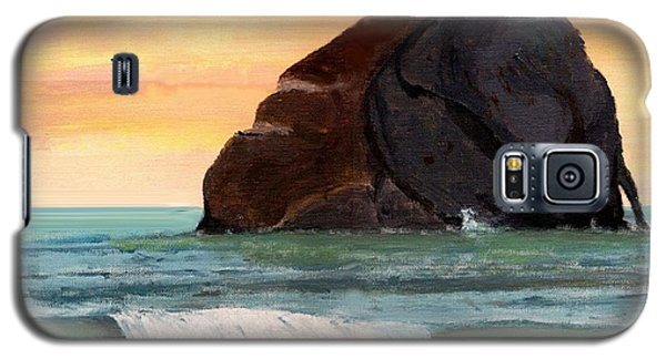 Haystack Rock At Kiwanda Galaxy S5 Case
