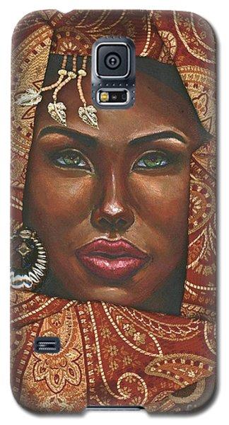 Hazel Eyes Galaxy S5 Case by Alga Washington