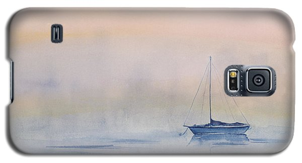 Hazy Day Watercolor Painting Galaxy S5 Case