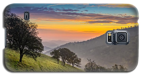 Hazy East Bay Sunrise Galaxy S5 Case