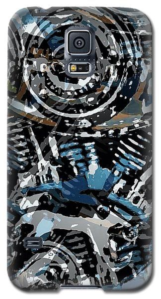 Abstract V-twin Galaxy S5 Case