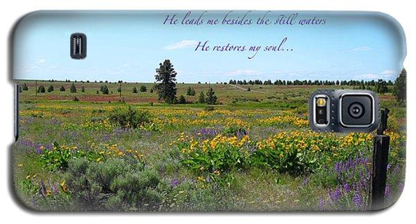 He Restores My Soul Galaxy S5 Case by Lynn Hopwood