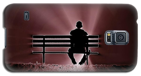 Galaxy S5 Case featuring the photograph He Spoke Light Into The Darkness by Micki Findlay