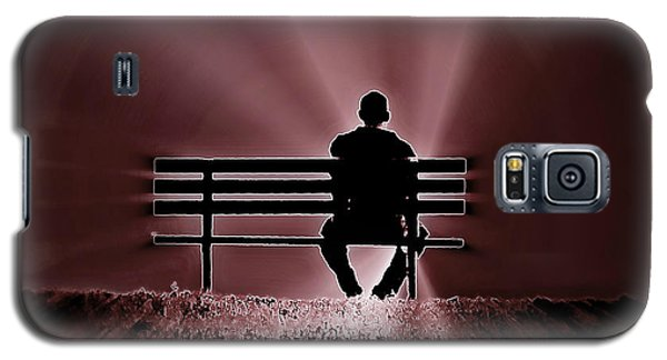He Spoke Light Into The Darkness Galaxy S5 Case by Micki Findlay