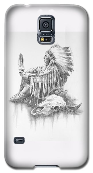 He Who Seeks A Vision Galaxy S5 Case by Kim Lockman