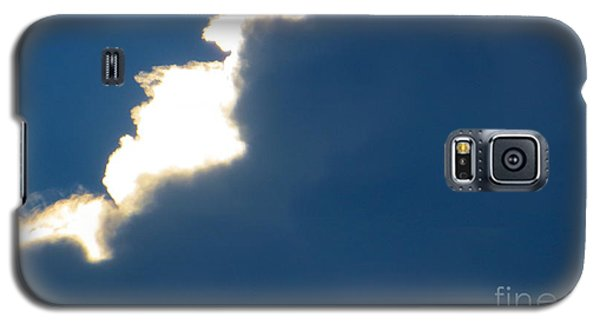 Galaxy S5 Case featuring the photograph Head In The Clouds by Joy Hardee