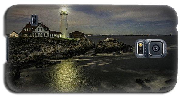 Head Light By Night Galaxy S5 Case