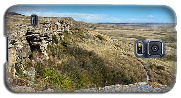 Head Smashed In Buffalo Jump Galaxy S5 Case