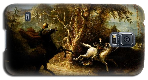 Headless Horseman Pursuing Ichabod Crane Galaxy S5 Case by Pg Reproductions