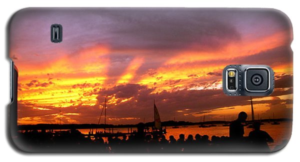 Galaxy S5 Case featuring the photograph Headlights Of Sunset by Zafer Gurel