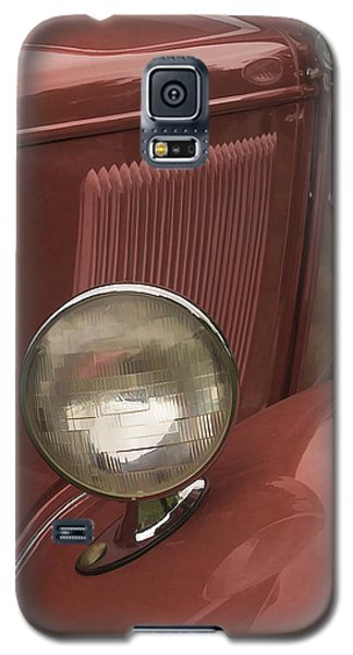 Galaxy S5 Case featuring the photograph Headlights by Wayne Meyer