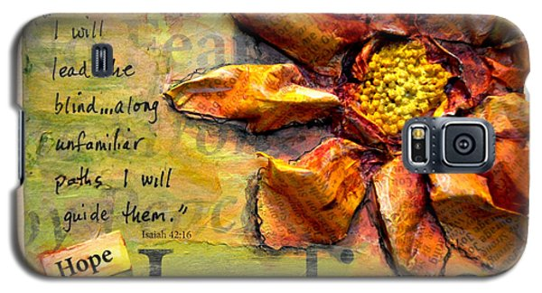 Healing From Isaiah 42 Galaxy S5 Case by Lisa Fiedler Jaworski