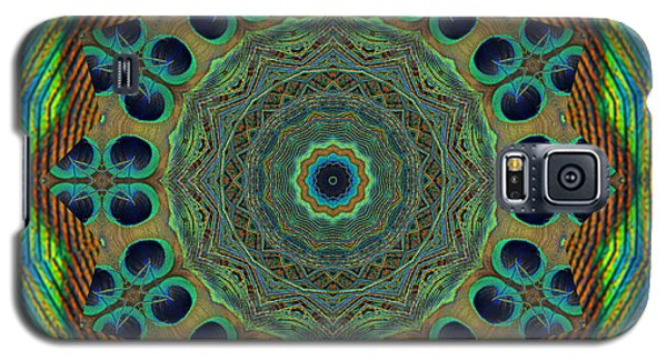 Galaxy S5 Case featuring the photograph Healing Mandala 19 by Bell And Todd
