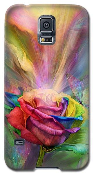 Healing Rose Galaxy S5 Case