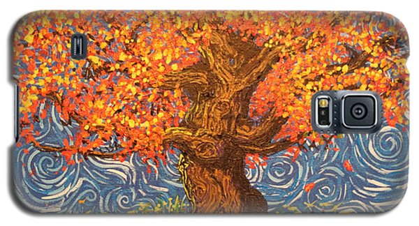 Healthy At Home Tree Galaxy S5 Case