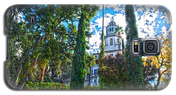 Galaxy S5 Case featuring the photograph Hearst Castle by Joseph Hollingsworth