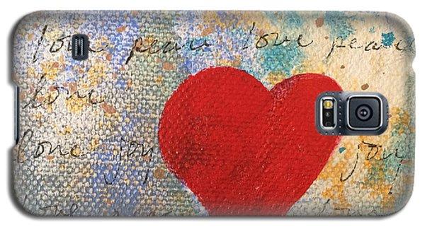 Heart #9 Galaxy S5 Case