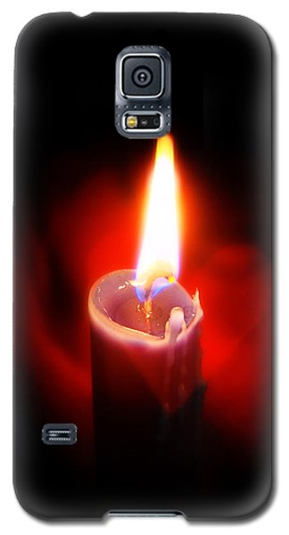Heart Aflame Galaxy S5 Case