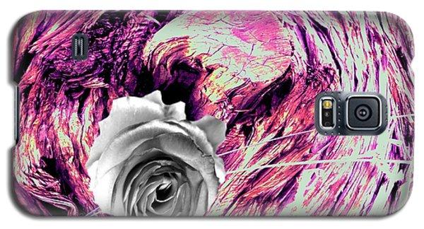 Heart Bark Neptune Rose Galaxy S5 Case by Marlene Rose Besso