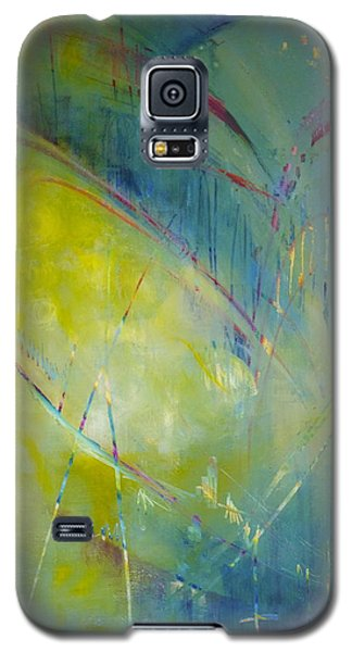 Galaxy S5 Case featuring the painting Heart Beat by Eleatta Diver