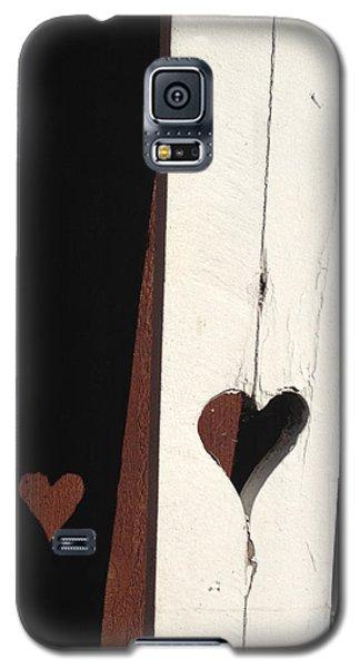 Heart Fence Shadow  Galaxy S5 Case