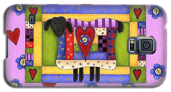 Heart For Ewe Galaxy S5 Case by Tracy Campbell
