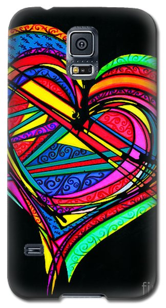 Heart Heart Heart Galaxy S5 Case