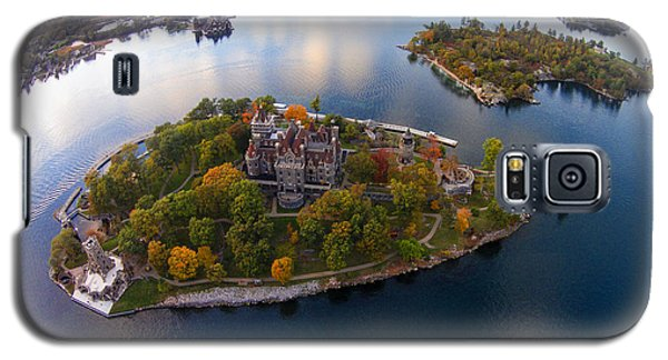 Heart Island George Boldt Castle Galaxy S5 Case by Tony Cooper