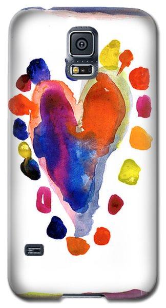 Heart Galaxy S5 Case