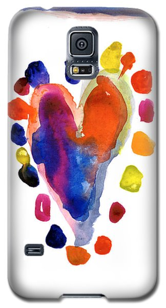 Heart Galaxy S5 Case
