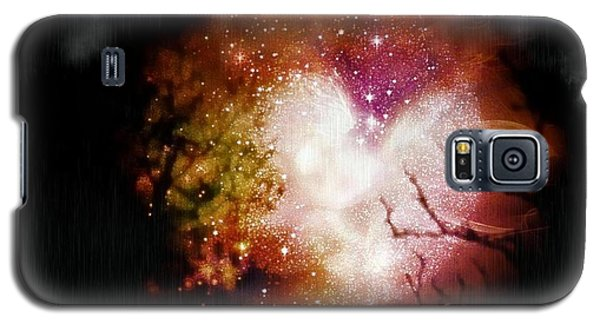 Heart Planet Galaxy S5 Case by Michelle Frizzell-Thompson