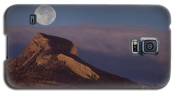 Heart Mountain And Full Moon-signed-#0325 Galaxy S5 Case