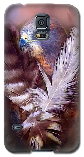 Heart Of A Hawk Galaxy S5 Case