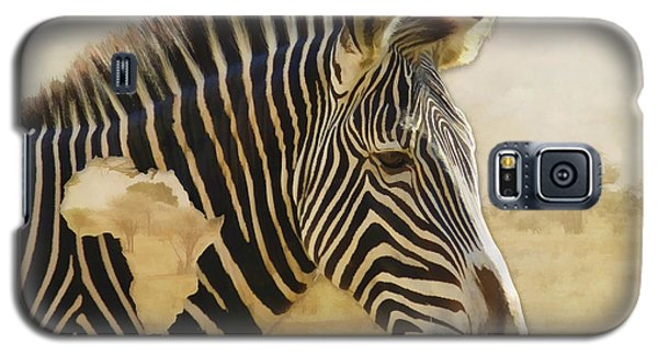 Galaxy S5 Case featuring the digital art Heart Of Africa by Kathleen Holley
