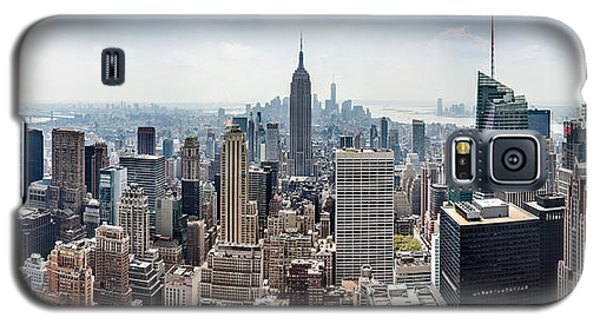 Empire State Building Galaxy S5 Case - Heart Of An Empire by Az Jackson