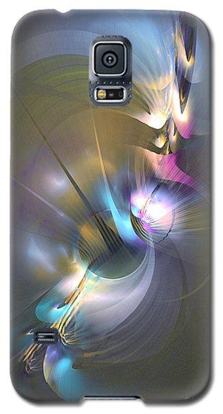 Heart Of Dragon - Abstract Art Galaxy S5 Case