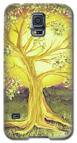 Heart Of Gold Tree By Jrr Galaxy S5 Case