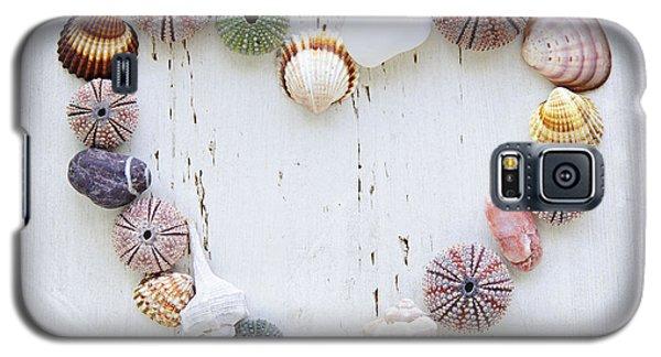 Heart Of Seashells And Rocks Galaxy S5 Case