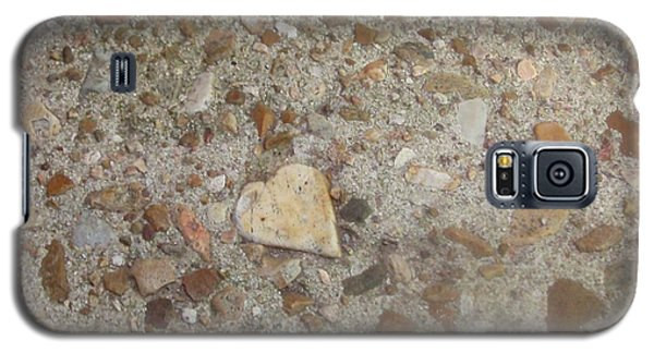 Galaxy S5 Case featuring the photograph Heart Of Stone by Fortunate Findings Shirley Dickerson