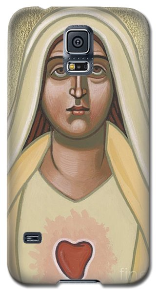 Galaxy S5 Case featuring the painting Heart Of The Mother 252 by William Hart McNichols