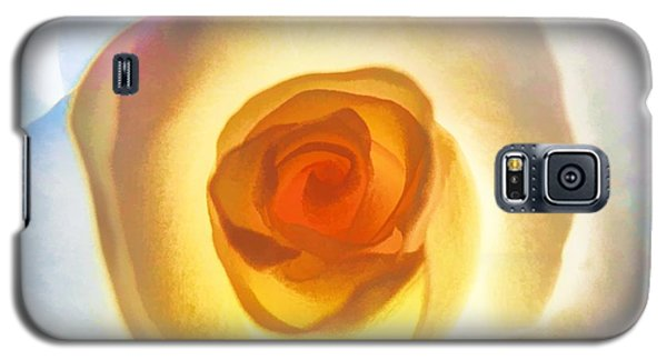 Heart Of The Rose Galaxy S5 Case by Peggy Hughes