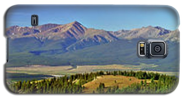 Heart Of The Sawatch Panoramic Galaxy S5 Case by Jeremy Rhoades
