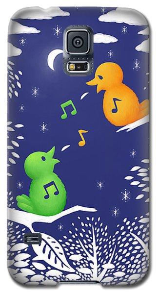 Galaxy S5 Case featuring the digital art Heart Song by Ben Hartnett