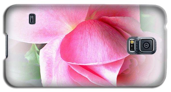 Heartfelt Pink Rose Galaxy S5 Case