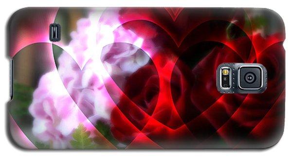 Hearts A Fire Galaxy S5 Case