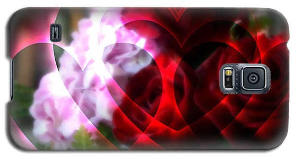 Hearts A Fire Galaxy S5 Case by Kay Novy